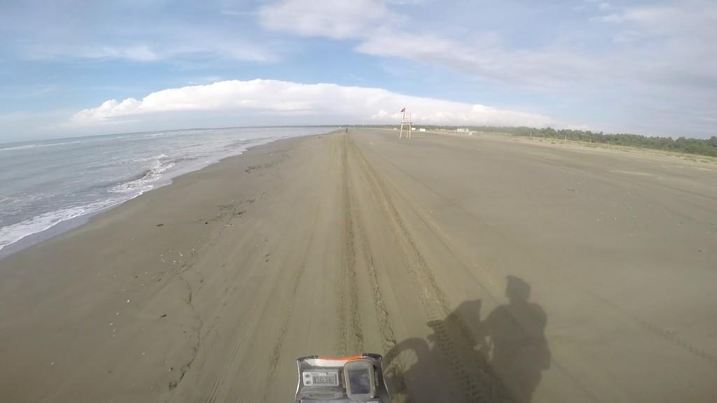 Fast beach