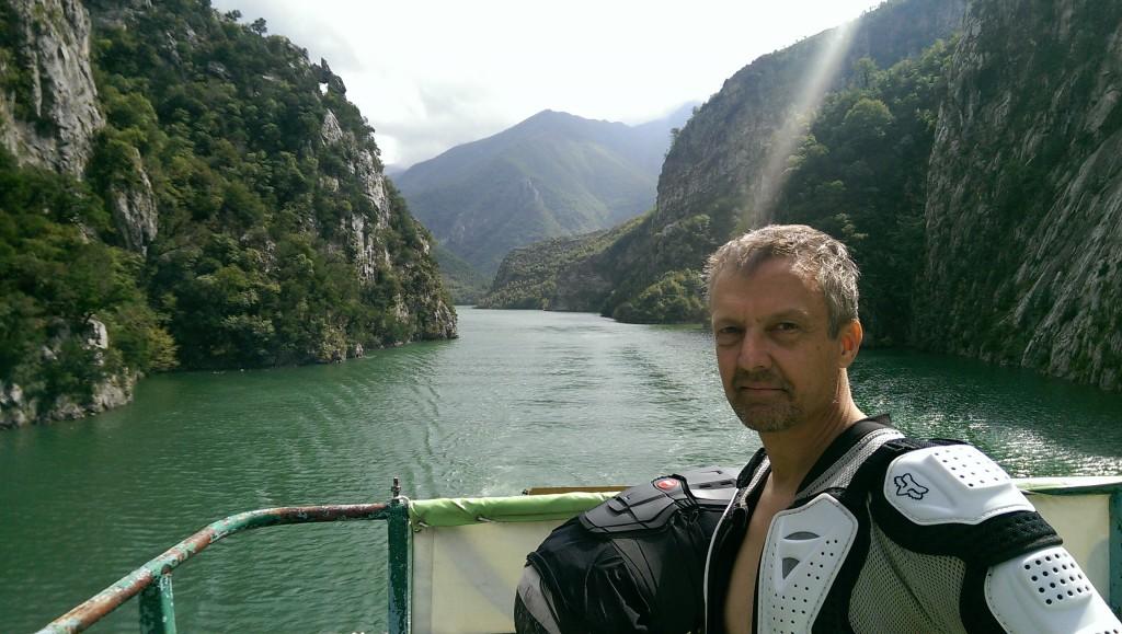 Sven on ferry