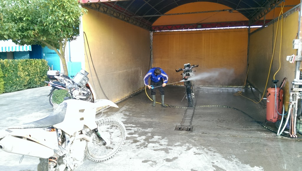 Washing bike