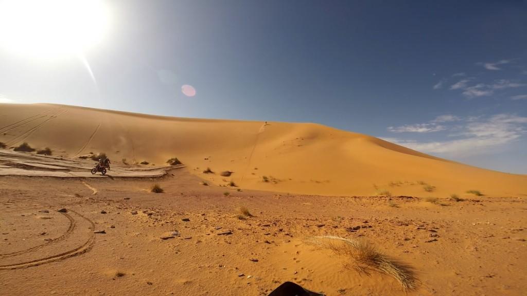 Huge dune