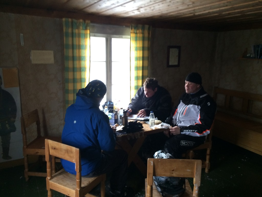 Lunch i lillstugan