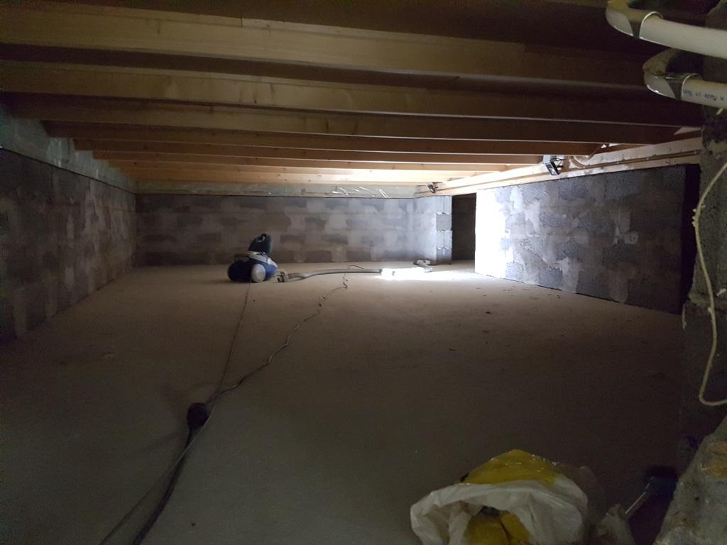 Städa källaren